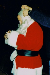 Santa Claus or Santa Cranstoun? You be the judge.